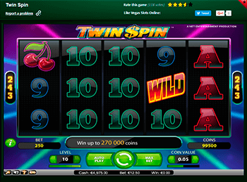 Twin Spin 1